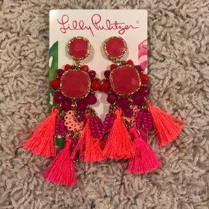 Lilly Pulitzer tassel earrings
